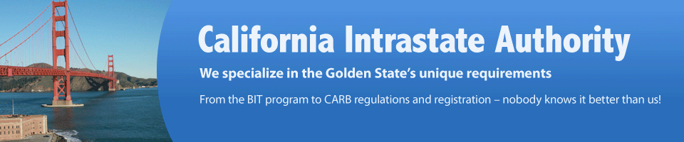 California Intrastate Authority